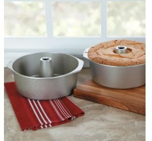 Nordicware Nonstick Platinum Pound Cake and Angel Food Cake Pan, 18 cup, 52537