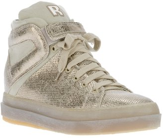 Ruco Line Rucoline perforated hi-top sneaker
