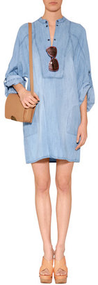 Chloé Cork Wedges in Nude