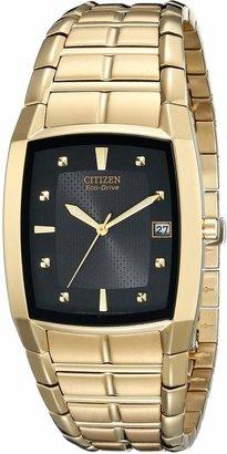 Citizen Men's BM6552-52E Eco-Drive Gold-Tone Dial Watch