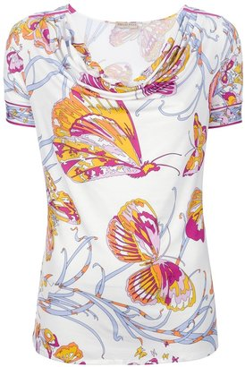Pucci Butterfly print top