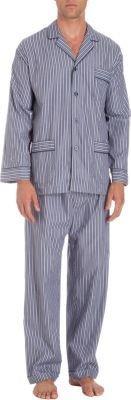 Barneys New York Border Striped Pajama Set