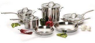 Calphalon Accucore Cookware Set - 10-Piece, Stainless Steel