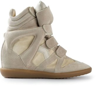 Isabel Marant 'Bekett' wedge sneaker