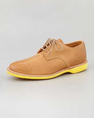 Walk-Over Chase Leather Derby, Tan/Yellow
