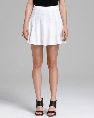 Theory Skirt - Eliza Crunch Pleated