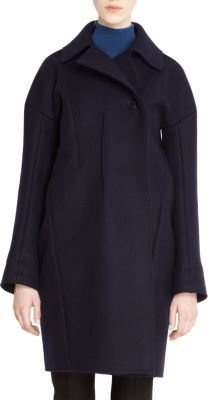 Jil Sander Wide Lapel Single Button Closure Coat