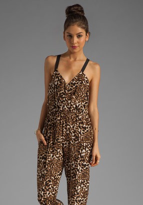 Twelfth St. By Cynthia Vincent By Cynthia Vincent Jumpsuit in Tie Dye Leopard Dot