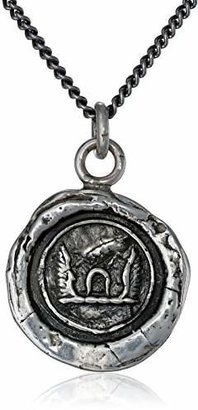 "Pyrrha talisman"" Sterling Luck and Protection Necklace"
