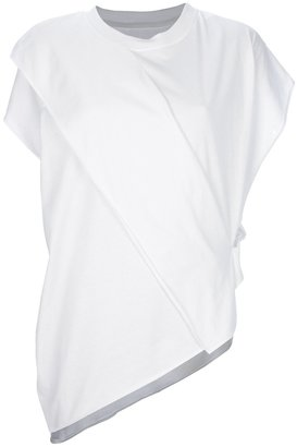 Maison Martin Margiela asymmetric t-shirt