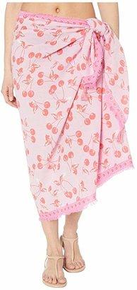 Vera Bradley Sarong (Rosy Garden Picnic) Women's Clothing