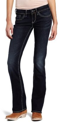 Silver Jeans Women's Aiko Curvy Bootcut Jean $88 thestylecure.com