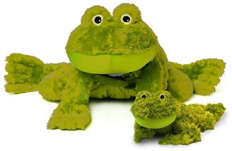 Zoobies blanket pets flavio the frog & mini plush