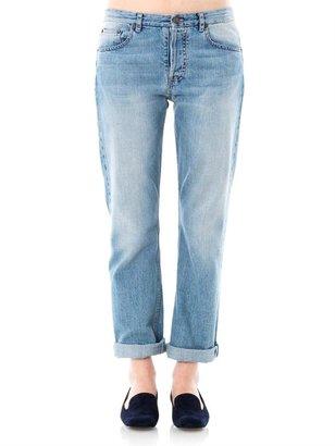 The Row Ashland high-rise straight-leg jeans