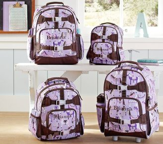 Pottery Barn Kids Mackenzie Lavender Horse Backpacks
