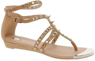 River Island Gladiator Tan Studded Flat Sandals