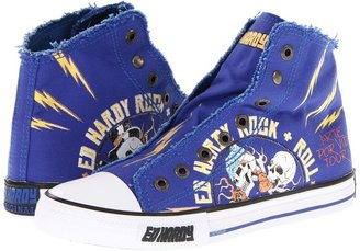 Ed Hardy Highrise Shoe (Navy) - Footwear