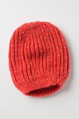 Anthropologie Bead-Dusted Beanie