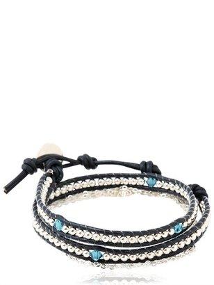 Swarovski Double Wrap Bracelet