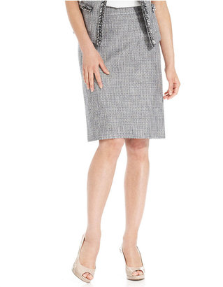 Tahari by Arthur S. Levine Tahari by ASL Skirt, Tweed Pencil