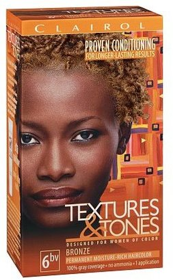 Clairol Textures & Tones Permanent Haircolor Bronze 6BV
