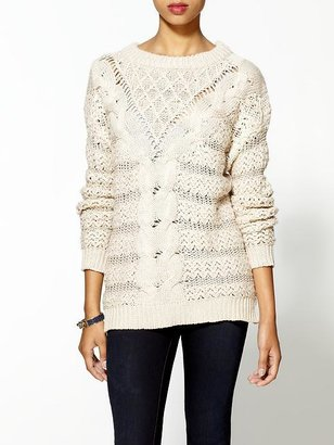 Rachel Zoe Threads for Thought Librarian Pullover