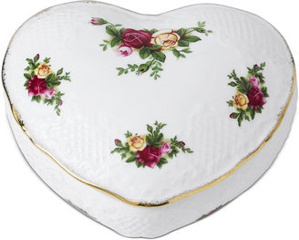 Royal Albert Heart Box, Old Country Roses Victorian