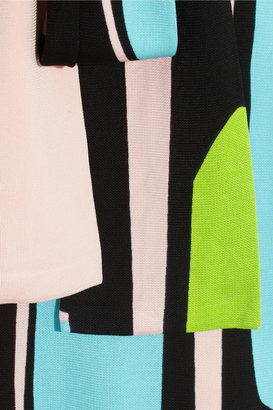Issa Wrap-effect crepe-jersey dress