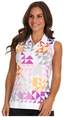 Nike Swing Graphic Sleeveless Top (White) - Apparel