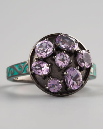 MCL by Matthew Campbell Laurenza Multi-Cut Amethyst Ring