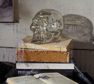 Pottery Barn Mercury Glass Skull