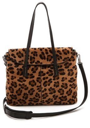 Elizabeth and James Print Haircalf Satchel