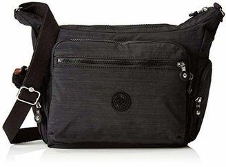 Kipling Gabbie, Women's Cross-Body Bag, Schwarz (Dazz Black), One Size