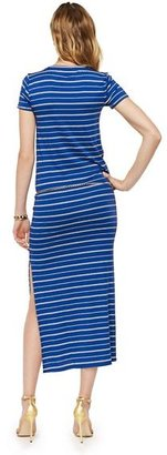 Juicy Couture Striped Slit Maxi Dress