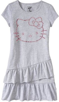 Hello Kitty Girls Tiered-Ruffle Sequined Dresses