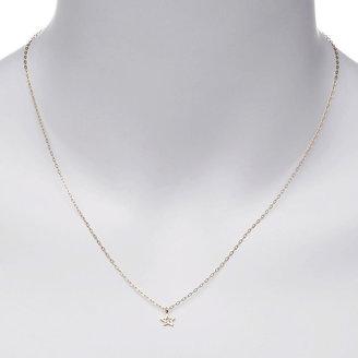 Yayoi Forest Jewelry Tiny Diamond Star Necklace 1 ea