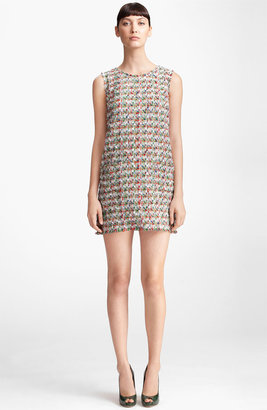 Dolce & Gabbana Sleeveless Tweed Dress
