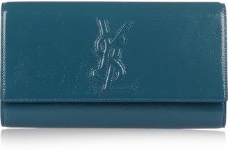 Yves Saint Laurent Belle de Jour patent-leather clutch