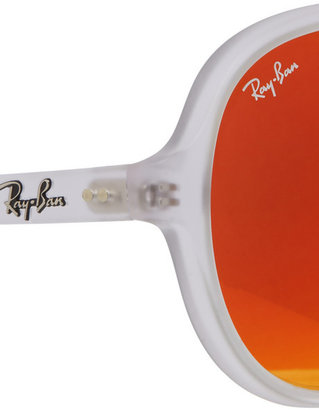 Ray-Ban Aviator acetate mirrored sunglasses