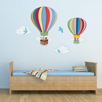 Belle & Boo 'Hot Air Balloons' Wall Stickers