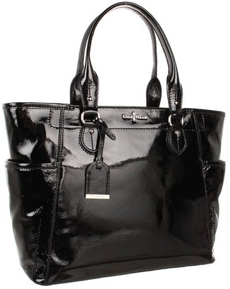 Cole Haan Linley Patent Tote with Top Zip
