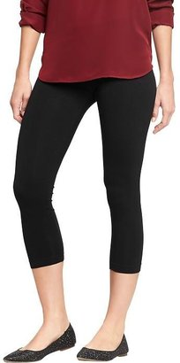 Women's Cropped Jersey Leggings $12.50 thestylecure.com