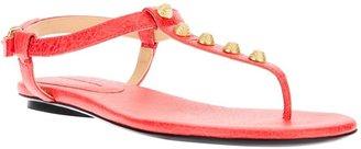Balenciaga studded t-bar sandal