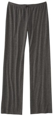 Xhilaration Juniors Fluid Knit Pajama Pant - Black