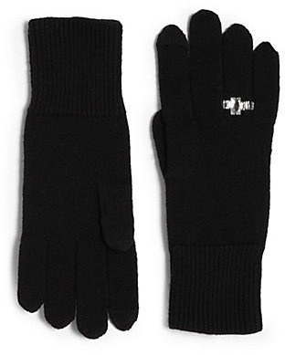 Kate Spade Frosted Ring Knit Gloves