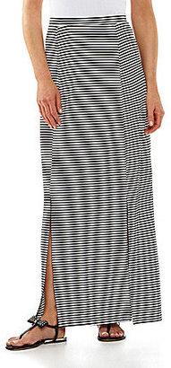 Gibson & Latimer Striped Maxi Skirt