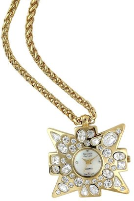Kenneth Jay Lane Women's KJ213-GD Gold-Tone Maltese Cross Pendant