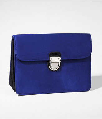 Express Sueded Clutch