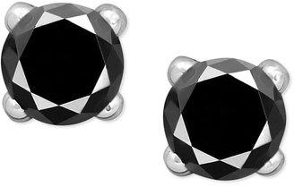 Black Diamond Victoria Townsend Sterling Silver Earrings, Stud Earrings (1/2 ct. t.w.)