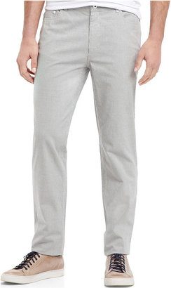 Kenneth Cole Reaction Pants, Five Pocket Ticking Stripe Pants
